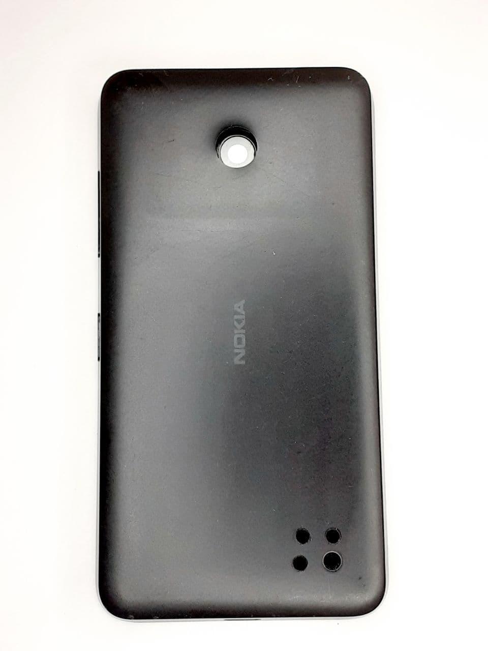 Корпус з рамкою  Nokia Lumia 630 (RM-976) / 635 (RM-975) / 636 (RM-1027) / 638 Dual Sim (RM-978) Black оригіна