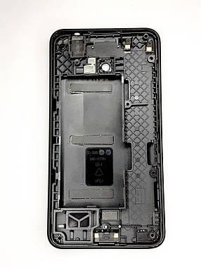Корпус з рамкою  Nokia Lumia 630 (RM-976) / 635 (RM-975) / 636 (RM-1027) / 638 Dual Sim (RM-978) Black оригіна, фото 2