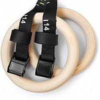 Гимнастические деревянные кольца со стропами и нумерацией профессиональные спортивные кольца   Гімнастичні