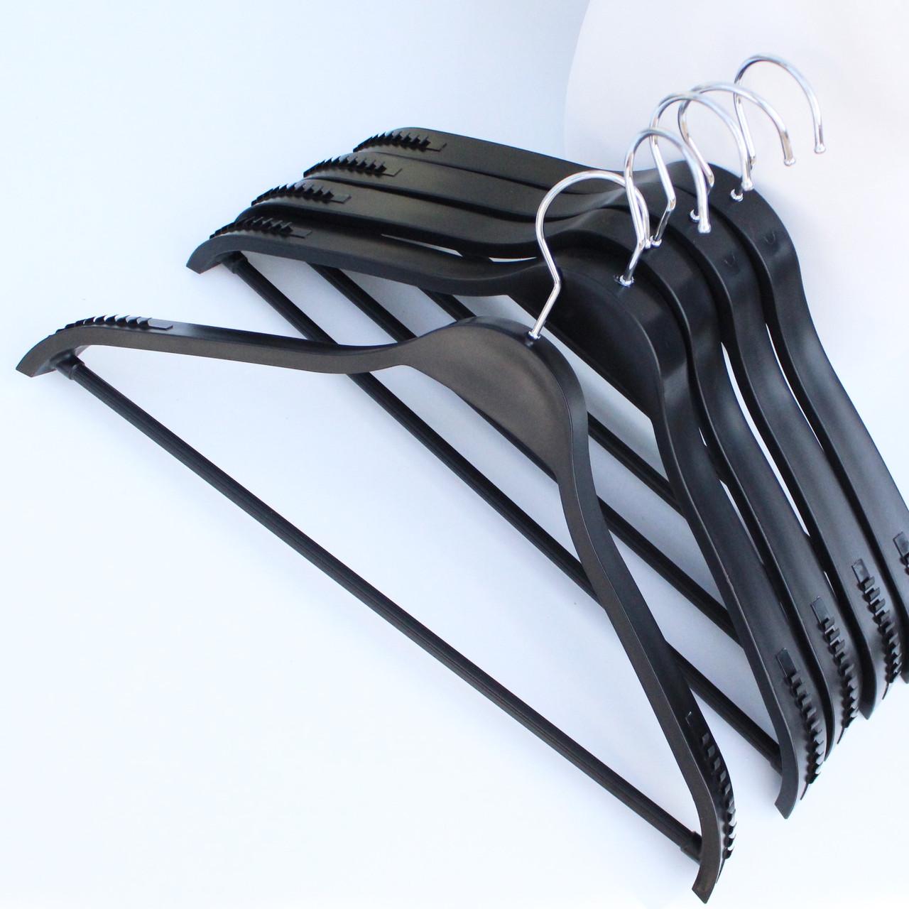 Плечики вешалки тремпеля для костюмов, пиджаков, верхней одежды, пальто, трикотажа, 44 см
