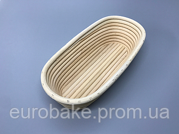 Корзины для расстойки теста овальной формы на 0,5 кг хлеба