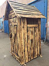 """""""Теремок"""" - уличный туалет из дерева"""