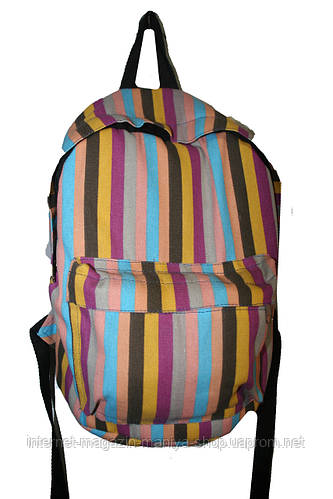 Рюкзак тканевый унисекс