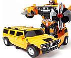 Робот-трансформер morph warrior Hummer | Машинка-трансформер | Робот игрушка, фото 3