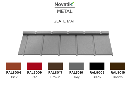 модульная металлочерепица Novatik Metal