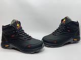 Мужские кожаные зимние ботинки, фото 2
