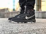 Мужские высокие кроссовки Nike LF1 DUCKBOOT 17 (черные/ звездочки), фото 7