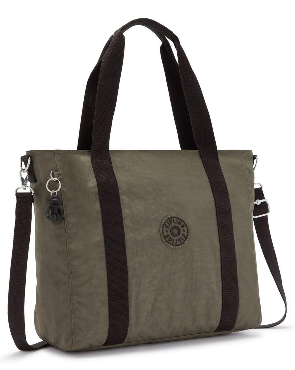 Женская сумка Kipling Basic зеленый