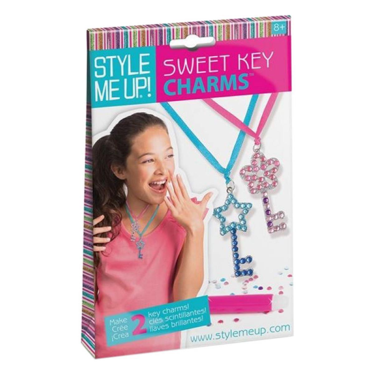 Набор для изготовления подвесок Style Me Up Sweet key charms. Wooky 00409