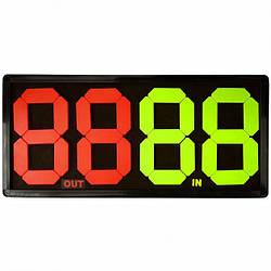 Табло замены игроков Sprinter Player Change Board МК865А 62x29 см (spr_39065)