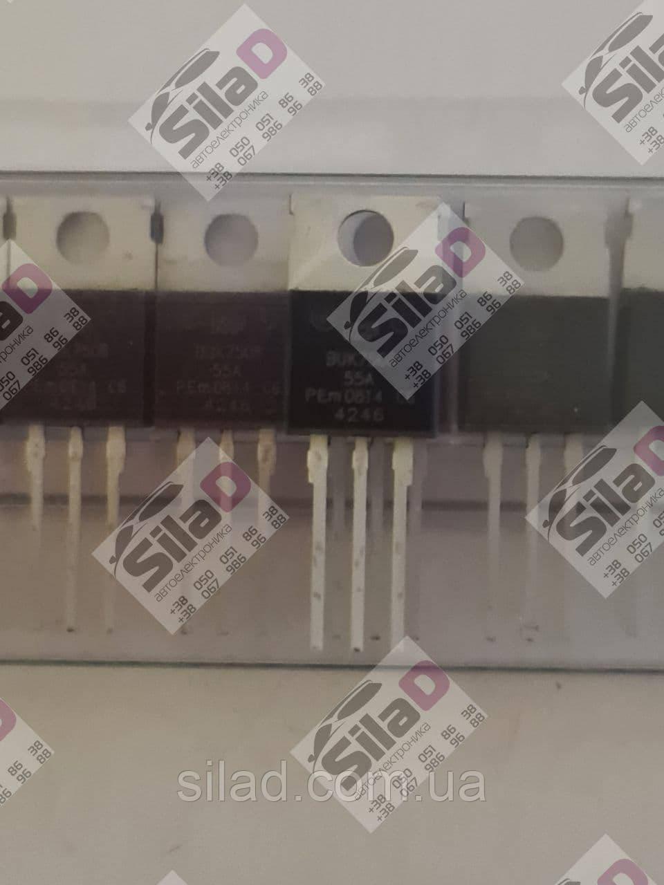 Транзистор BUK7508-55A NXP корпус TO-220AB