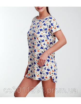 """Сорочка """"Цветы"""", фото 2"""