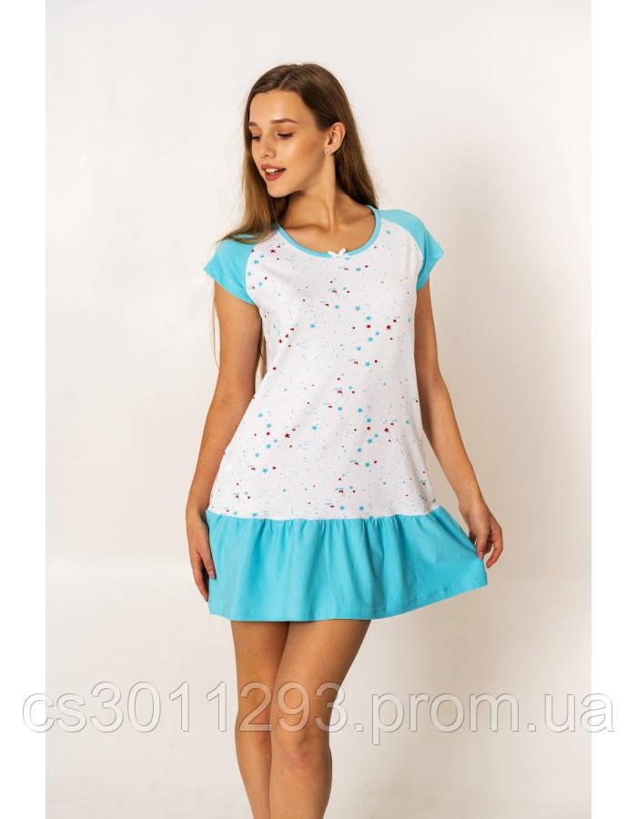 Сорочка с воланом