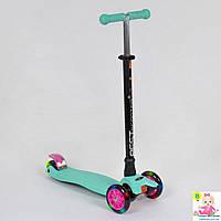 Детский самокат для девочек 466-113 / А 24645 Best Scooter MAXI (Бирюза)