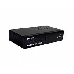 ТВ-ресивер BEKO KY-T9 тюнер цифровой приёмник T2 с поддержкой Wi-Fi адаптера для телевизора с приложением