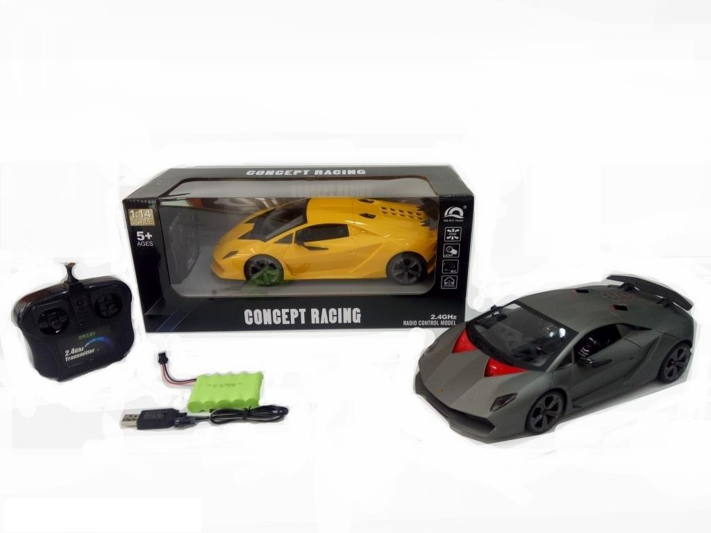 Легковая гоночная Lamborghini Sesto Elemento HQ200138 двигается во всех направлениях (2 цвета)