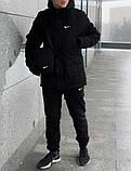 Мужской зимний спортивный комплект Nike, перчатки и барсетка в подарок, фото 2