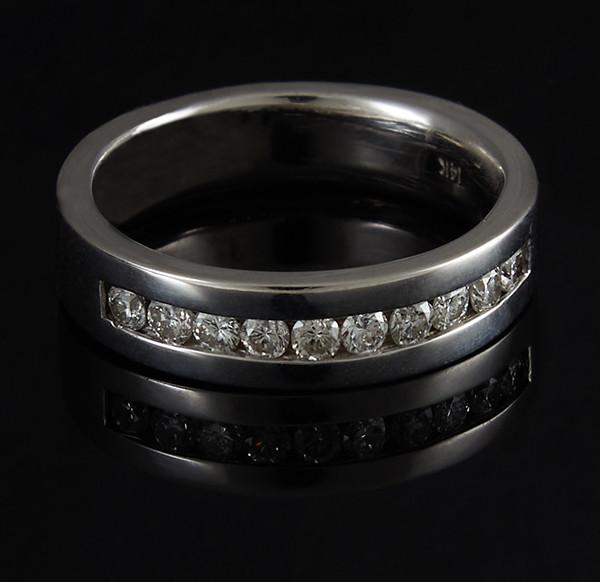 Золотое кольцо с бриллиантами С44Л1№8