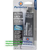Высокотемпературный серый формирователь прокладок Permatex Ultra Grey RTV Silicone Gasket Maker, фото 1