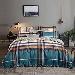 Двоспальний комплект «Класика NEW» 175х217 см з ранфорсу (50х70)