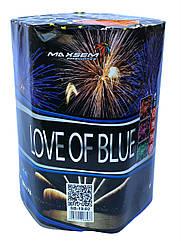 Фейерверк LOVE OF BLUE 19 выстрелов 30 калибр | Салют SB19-02