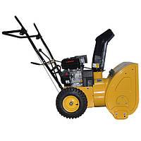 Снегоуборщик бензиновый, с приводом на колеса, 5 скоростей + 2 задние, 4—х тактный двигатель 5.5HP/4.1кВт, рабочая ширина 560 мм Intertool SN—5500