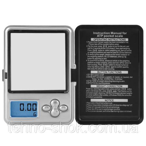 Весы ювелирные электронные AТР 188, 200г (0,01г)