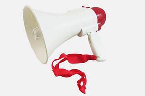 Громкоговоритель мегафон Kronos HW 8C рупор 15 Вт Белый с красным (par_8)