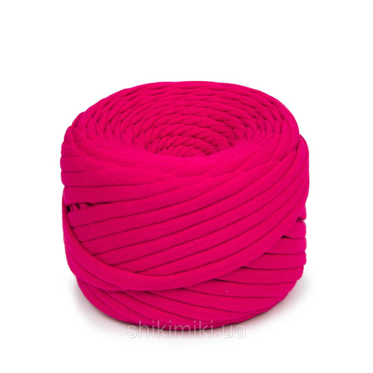 Пряжа трикотажна Bobilon (50 м), колір Фуксія