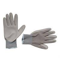 """Перчатки трикотажные с латексным покрытием, 10"""" Intertool SP—0122"""