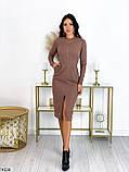 Платье кофейное, фото 2