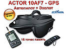 Карповый кораблик Actor GPS навигация автопилот эхолот краткая инструкция по управлению пультом дистанционного управления
