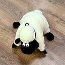 """Игрушка-подушка из овчины """"Барашек Шон"""", фото 4"""