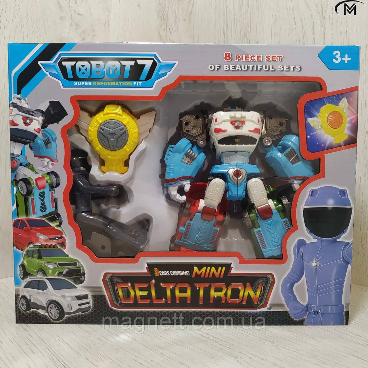 Робот - трансформер Тобот мини Дельтатрон TOBOT Deltatron