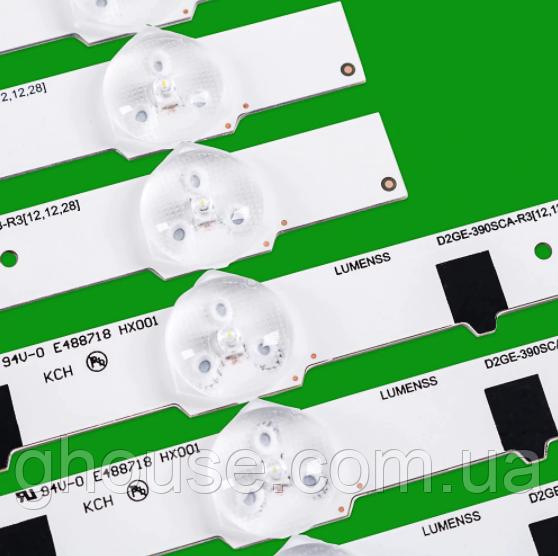LED подсветка телевизора UE39F5000AK подсветка D2GE-390SCA-R3