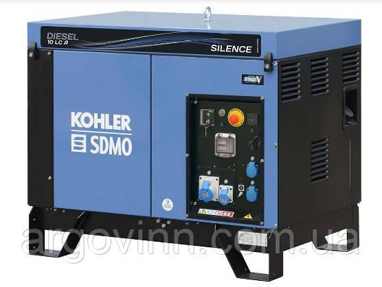 Дизельний генератор SDMO Diesel 15 LC TA Silence