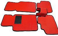 Автоковрики VOLRO Премиум 5 шт в комплекте до восьми креплений, подпятник резина-пластик, 2 шильд, КОД: