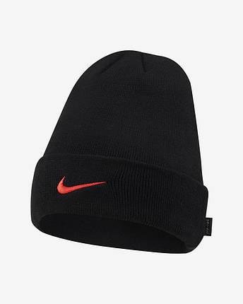 Шапка Nike Liverpool F. C. Cuffed Football Beanie DA7804-010 Чорний, фото 2