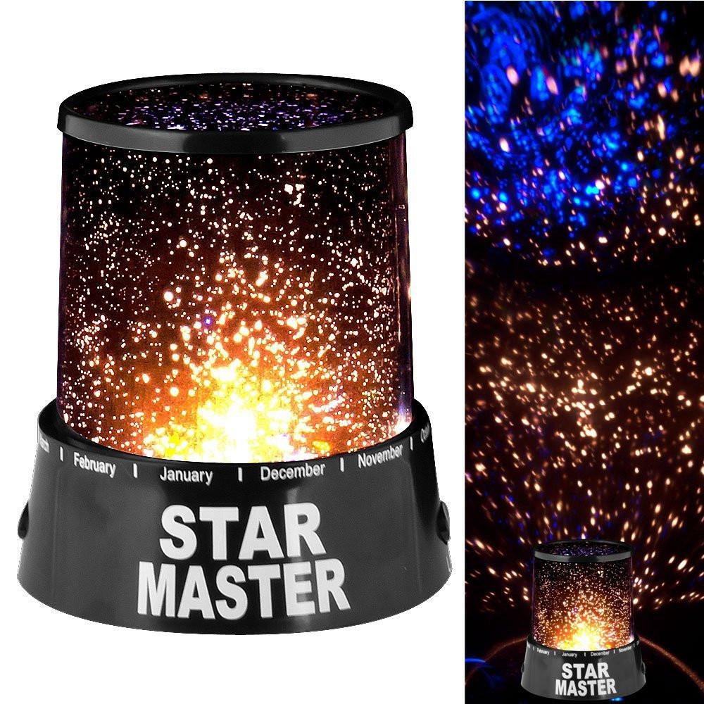 Проектор нічник зоряного неба Star Master світильник