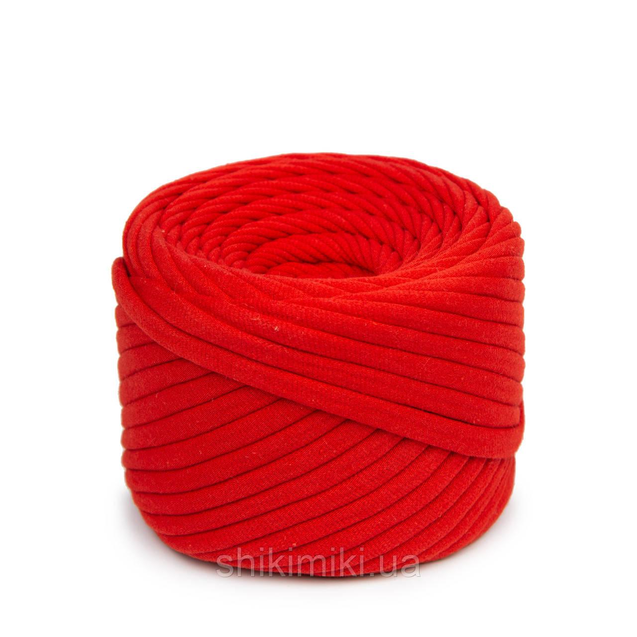 Трикотажная пряжа Bobilon (50 м), цвет Красный мак