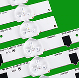 LED підсвічування телевізора Samsung UE39F5500AK підсвічування D2GE-390SCA-R3, фото 2