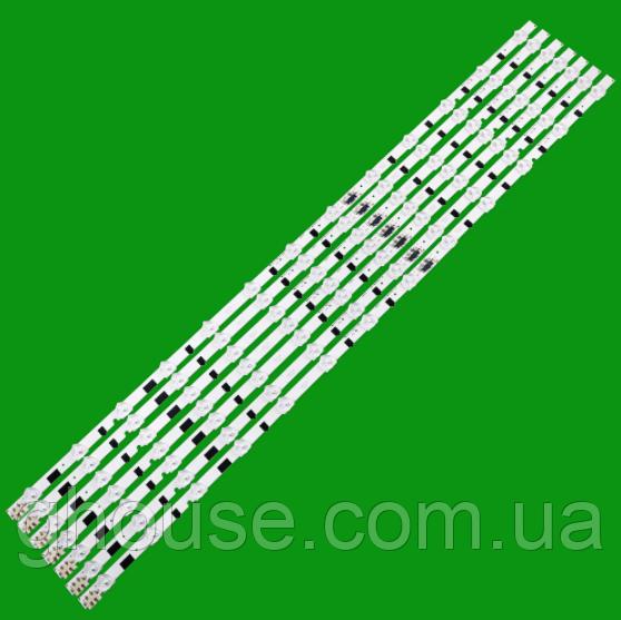 LED подсветка телевизора Samsung UE39F5500AK подсветка D2GE-390SCA-R3