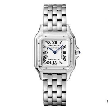 Cartier 29 мм Silver-White