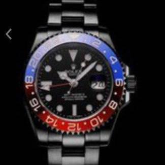 Rolex GMT Master Black-Red-Blue, фото 2