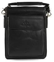Удобная мужская стильная сумка Langsa art. 9927-1 черный, фото 1