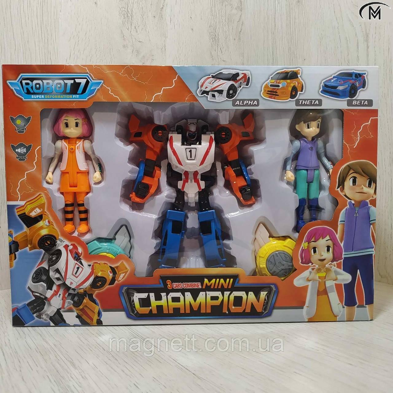 Робот - трансформер Тобот мини Giga Tobot Champion