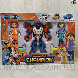 Робот - трансформер Тобот міні Giga Tobot Champion