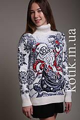 Свитер женский Pulltonic Дедушка Мороз