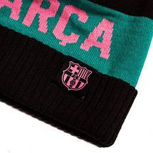 Шапка зимняя Nike FC Barcelona POM Beanie DA1715-010, фото 3