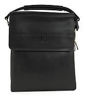 Зручна чоловіча стильна сумка Langsa art. 6738-2 чорний, фото 1